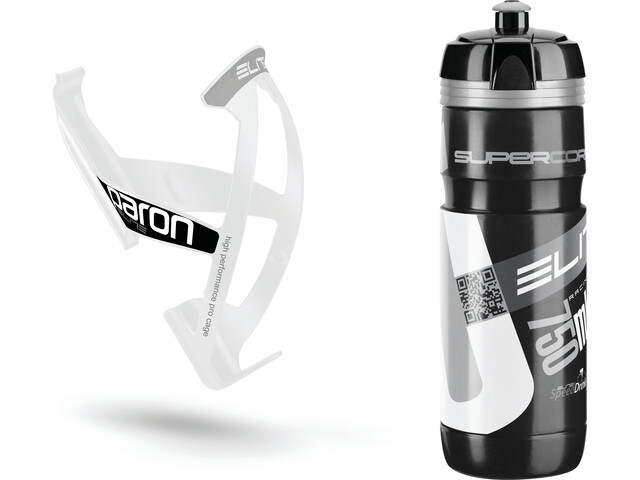 Elite Kit Supercorsa/Paron Hydration System 750 ml white/black